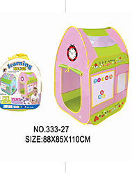 cheap -Children Play Toy Puzzle Entertainment Early Baby Tent Shooting Game House with the Letters