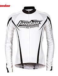 cheap -TASDAN Women's Long Sleeve Cycling Jersey Black Purple Green Bike Jersey Top Mountain Bike MTB Road Bike Cycling Breathable Quick Dry Ultraviolet Resistant Sports Winter 100% Polyester Clothing