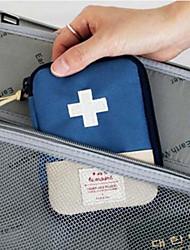 Недорогие -Дорожный кейс для медикаментов Компактность Хранение в дороге для Компактность Хранение в дороге Красный Синий