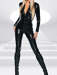 cheap -Women's Movie / TV Theme Costumes More Costumes Career Costumes Sexy Uniforms More Uniforms Sex Zentai Suits Cosplay Costume Catsuit Solid Colored Leotard / Onesie