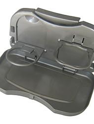 cheap -Car Foldable Seat back Headrest Multi-Functional Travel Dining Tray Beverage Holder/Phone Holder