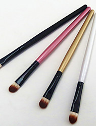 cheap -Professional Makeup Brushes Eyeshadow Brush 4pcs Portable Travel Eco-friendly Professional Wood Eyeshadow Brushes for Eyebrow Brush Eyeshadow Brush