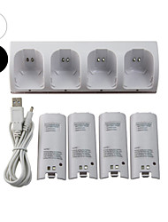 cheap -WII Audio and Video Charger / Batteries For Wii U / Wii ,  Mini Charger / Batteries Metal / ABS 1 pcs unit