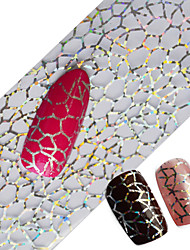 Недорогие -100x4cm последние блеск искусства ногтя полные советы оборачивает поделки сексуальные паутины фольг ногтя передать польский клей наклейки