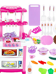 cheap -Pretend Play Play Kitchen Extra Large Plastic Kid's Toy Gift 30 pcs