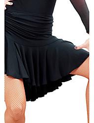 Недорогие -Латино Юбки Жен. Учебный Вискоза Средняя талия Юбки / Бальные танцы