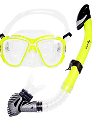 cheap -Snorkeling Set Anti Fog Two-Window - Diving Silicone - For Adults Purple / Dry Top