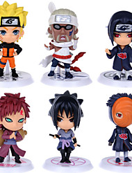 cheap -Anime Action Figures Inspired by Naruto Cosplay PVC(PolyVinyl Chloride) 6 cm CM Model Toys Doll Toy / More Accessories / More Accessories