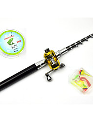 cheap -Iso Rod 135 cm Fibre Glass Medium (M) General Fishing