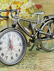 cheap -Fashion Bike Shape Alarm Clock For Children Kids Bicycle Alarm Clock Home Art Decoration