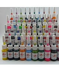 cheap -BaseKey Tattoo Ink 40 x 5 ml Professional - Multi-Color