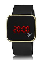 cheap -Men's Casual Watch Fashion Watch Digital Watch Digital Silicone Black LED Digital Ladies - Black Silver Golden / Stainless Steel