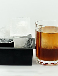cheap -Big Giant Jumbo King Size Large Ice Cube Square Tray Mold Mould