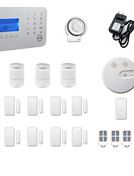 cheap -Home Alarm Systems GSM / PSTN Platform GSM / PSTN Wireless Keyboard / SMS / Phone 433Hz for