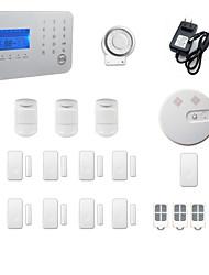 Недорогие -Системы охранной сигнализации GSM / ТЕЛЕФОН Платформа GSM / ТЕЛЕФОН Беспроводная клавиатура / SMS / Телефон 433Hz для
