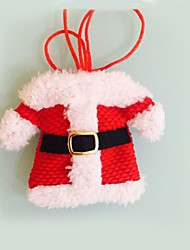 cheap -2 Pcs  Christmas Decorations Happy Santa Silverware Holders Pockets Dinner Decor festas