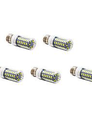 Недорогие -5 шт. 4 W LED лампы типа Корн 400-500 lm E26 / E27 T 56 Светодиодные бусины SMD 5730 Тёплый белый Холодный белый 220-240 V
