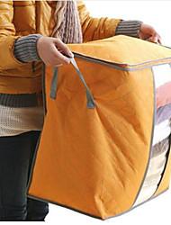 Недорогие -текстильный пластик Овал С крышкой Главная организация, 1шт Коробки для хранения