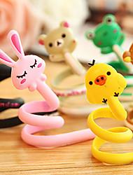 Недорогие -1шт мультфильм организатор кабель животное наушники наушники роликовый шнура Wrap моталки (случайный цвет)