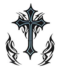Недорогие -1 pcs Временные татуировки Водонепроницаемый / Большой размер Бумага Временные тату / Нижняя часть спины / Waterproof