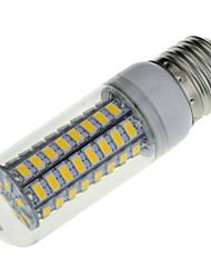 cheap -1pc 7 W LED Corn Lights 600 lm E14 E26 / E27 T 72 LED Beads SMD 5730 Decorative Warm White Cold White 220-240 V / 1 pc / RoHS