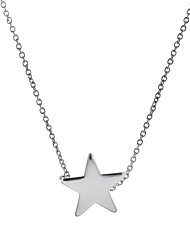 cheap -Women's Pendant Necklace Pendant Star Ladies Fashion Copper Gold Silver Necklace Jewelry For Wedding Party Daily Casual Sports