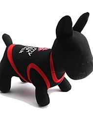 cheap -Cat Dog Shirt / T-Shirt Dog Clothes Lips White Black Red Cotton Costume For Summer Men's Women's Fashion