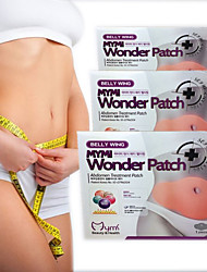 cheap -Slimming Patch Belly Slim Patch Abdomen Weight Loss Patches burning Fat Navel Sticker
