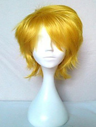 cheap -Cosplay Costume Wig Synthetic Wig Curly Curly Wig Blonde Blonde Synthetic Hair Women's Blonde
