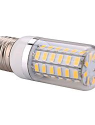 cheap -YWXLight® E14  E27 500lm 5730SMD 60LED LED Spotlight Warm White Cool White LED Corn Light Home Chandelier AC 110-130V AC 220-240V