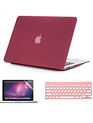 cheap -MacBook Case Solid Colored ABS for MacBook Pro 15-inch with Retina display / MacBook Pro 13-inch with Retina display