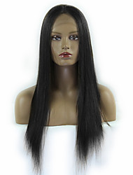 cheap -Human Hair Lace Front Wig Kardashian style Brazilian Hair Straight Wig Women's Short Medium Length Long Human Hair Lace Wig