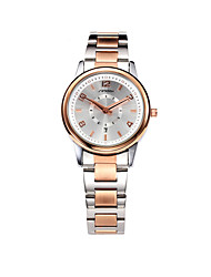 cheap -SINOBI Women's Wrist Watch Gold Watch Quartz Ladies Water Resistant / Waterproof Analog Rose Gold / Two Years / Calendar / date / day / Two Years / Sony-SR626SW