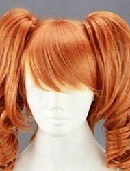 cheap -Synthetic Wig Curly Style Wig Blonde Synthetic Hair Women's Red Wig hairjoy