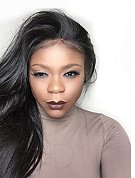 cheap -new style high ponytail full lace wigs silky straight virgin human hair affordable malaysian full lace wig middle part