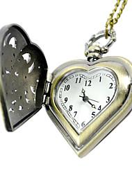 Недорогие -Муж. Карманные часы электронные часы Кварцевый Желтый карман Повседневные часы Аналоговый Кулоны Мода Один год Срок службы батареи