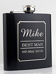 cheap -Personalized Stainless Steel Barware & Flasks / Hip Flasks Bride / Groom / Bridesmaid Wedding / Anniversary / Birthday