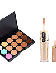cheap -Concealer Cream Concealer / Contour Dry / Matte / Shimmer Whitening / Coverage / Oil-control Face Makeup Cosmetic