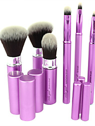 cheap -Professional Makeup Brushes Makeup Brush Set 6 Portable Travel Synthetic Limits Bacteria Blending Premium flawless Buffing Synthetic Hair / Artificial Fibre Brush Metal for Cream Liquid Powders