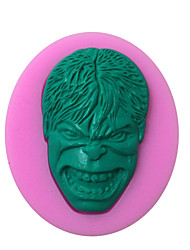 cheap -Hulk Shaped Silicone Fondant Cake Cake Chocolate Silicone Molds,Decoration Tools Bakeware