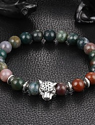 cheap -Crystal Bead Bracelet Ladies Crystal Bracelet Jewelry Green / Rainbow For Christmas Gifts Daily Casual