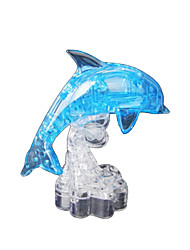 cheap -Dolphin 3D Puzzle Wooden Puzzle Crystal Puzzle Wooden Model ABS Kid's Adults' Toy Gift