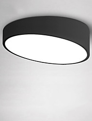 cheap -1-Light 40cm Modern Style 24W Simplicity LED Ceiling Lamp Flush Mount Living Room Bedroom Kids Room Light Fixture