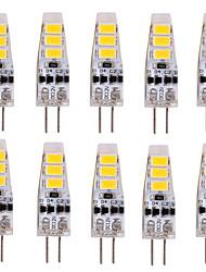 cheap -YWXLight® 10PCS G4 2W 200LM 5730SMD LED Bi-pin Lights Warm White Cool White Led Corn Bulb Chandelier Lamp  DC 12V