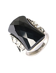 cheap -Ring,Statement Rings,Jewelry Fashionable Party Resin / Silver Plated Gold 1pc,One Size Women