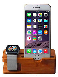 cheap -Desk Apple Watch / iPhone 6 Plus / iPhone 6s Mount Stand Holder Other Apple Watch / iPhone 6 Plus / iPhone 6s Wooden Holder