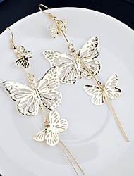 cheap -Women's Drop Earrings Classic Earrings Jewelry Black / Gold / Silver For Party 1pc
