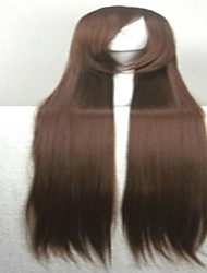 cheap -Synthetic Wig Straight Style Wig Brown Synthetic Hair Women's Wig Very Long hairjoy