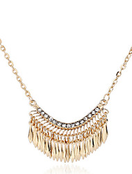 cheap -Women's Pearl Statement Necklace Pearl Necklace Statement Ladies European Fashion Pearl Alloy Gold Necklace Jewelry For Party