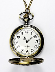 cheap -Men's Pocket Watch Quartz Artistic Style Vintage Style Gold Hollow Engraving Analog Chic & Modern